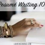 Office Etiquette: Resumé Writing 101
