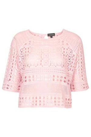 Topshop Crochet Crop Top, $76