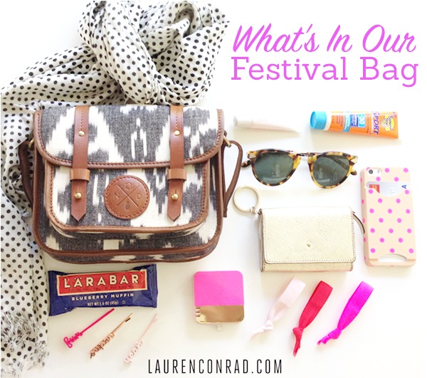 What's in Team LC's Festival Bag
