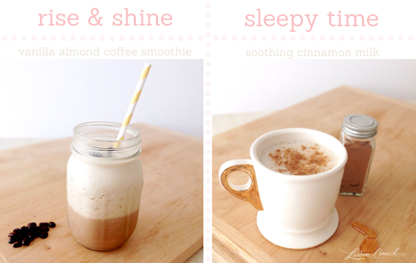 Sweet Sips: Early to Bed, Early to Rise