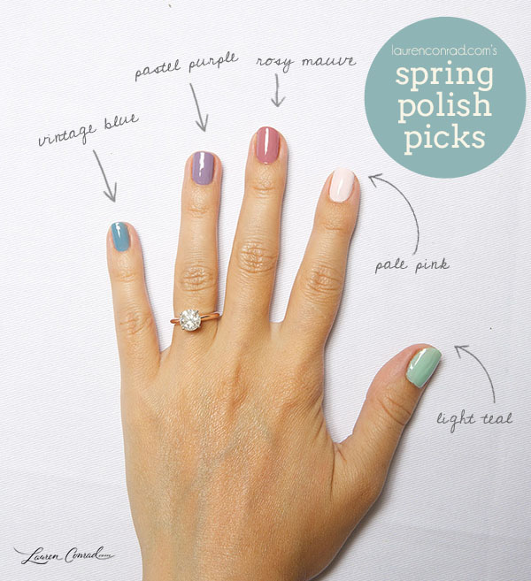 Nail Files: My Spring Polish Picks - Lauren Conrad