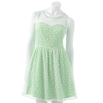 LC Lauren Conrad for Kohl's Floral Fit & Flare Dress, $39.99