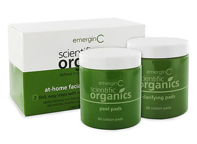 emerginC Scientific Organics At-Home Facial Peel + Clarifying Kit, $90