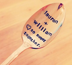 Jessica N Designs Personalized Spoon