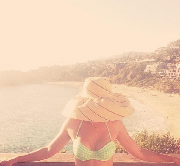Anthropologie Rarotonga Sun Hat