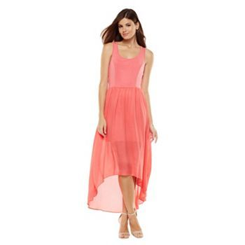 LC Lauren Conrad Hi-Low Hem Maxi Dress, $47.99
