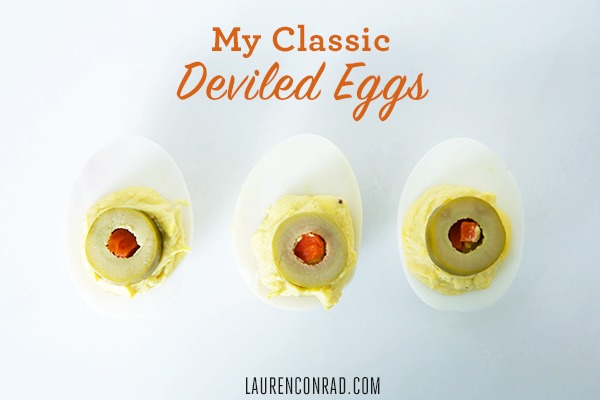 Lauren Conrad's Deviled Egg Recipe