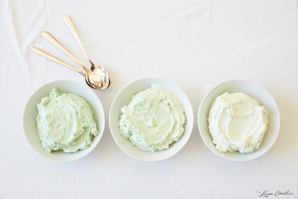 Ombre Mint Frosting