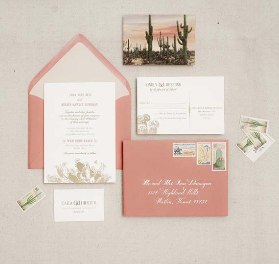 tuesday ten: favorite wedding invitations - lauren conrad,