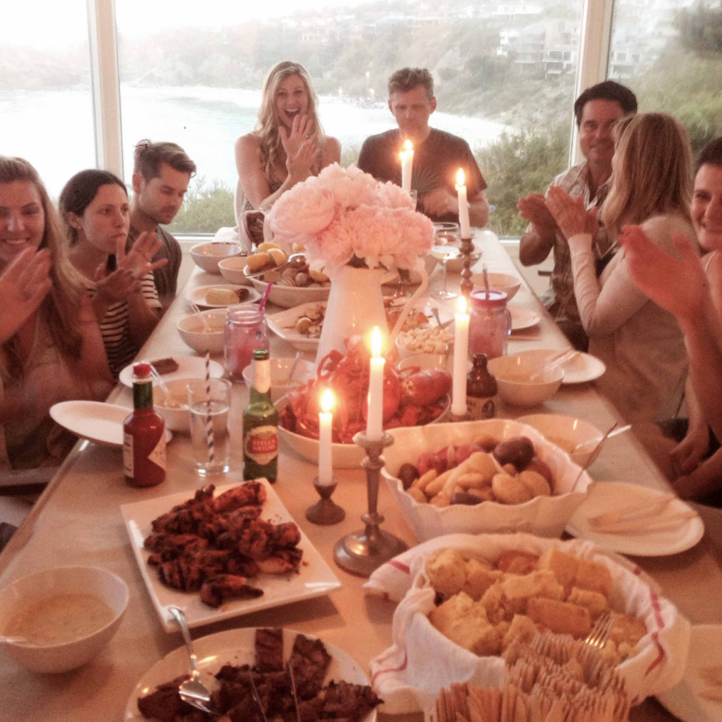 Lauren Conrad's Dinner Party