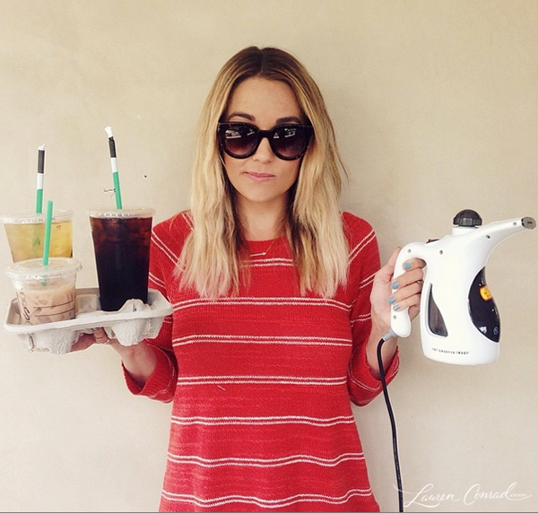 LaurenConrad.com Photo Shoot