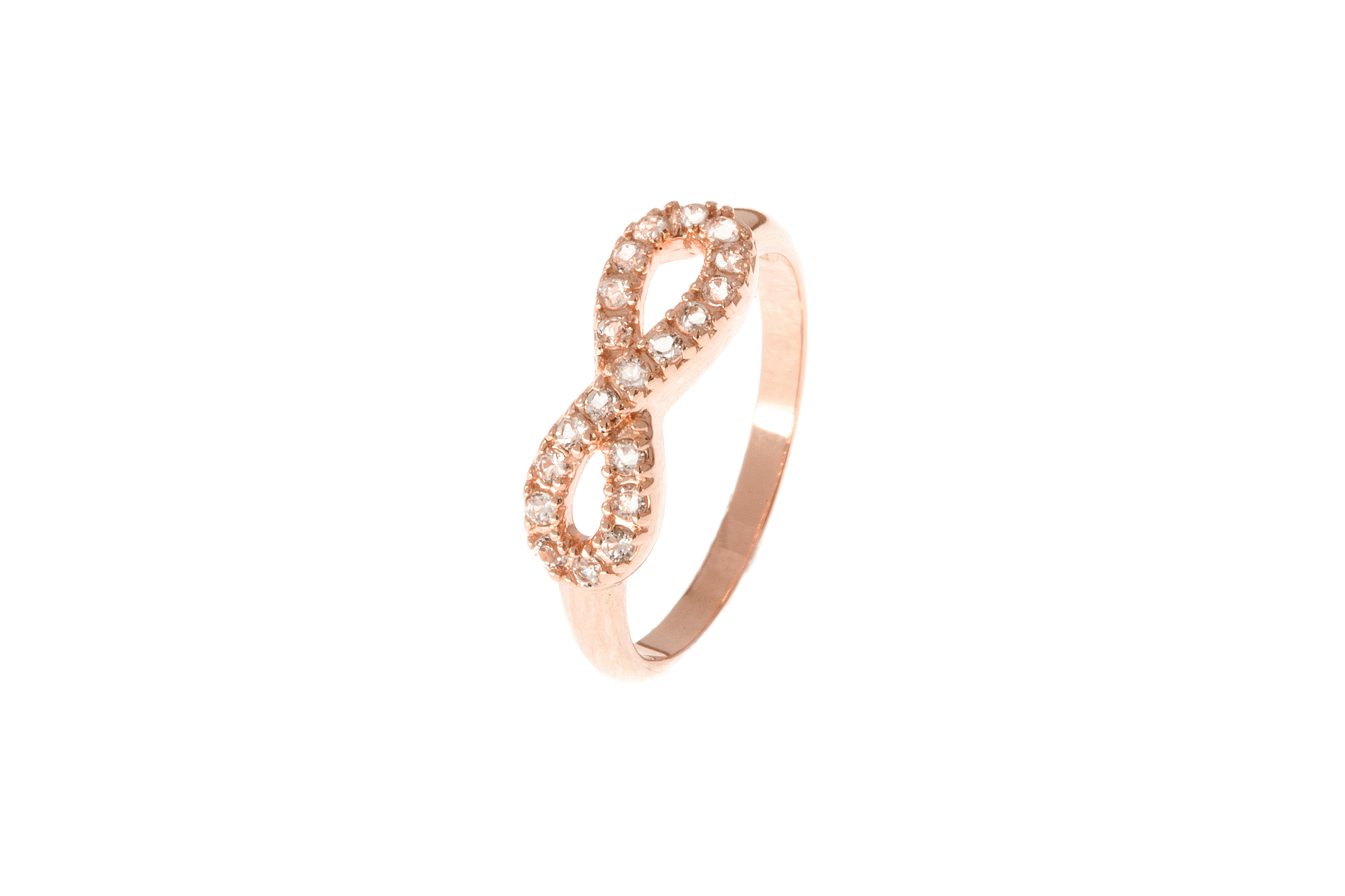 baby rose infinity ring by graziela gems