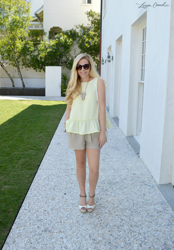 00b119a19480 ... Shoe Styles for Summer. platform wedge – LC Lauren Conrad ( 34.99)