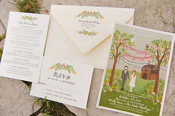 tuesday ten favorite wedding invitations - Paper For Wedding Invitations