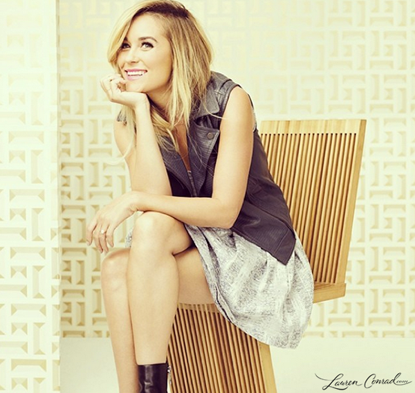 Lauren Conrad in Darling Magazine