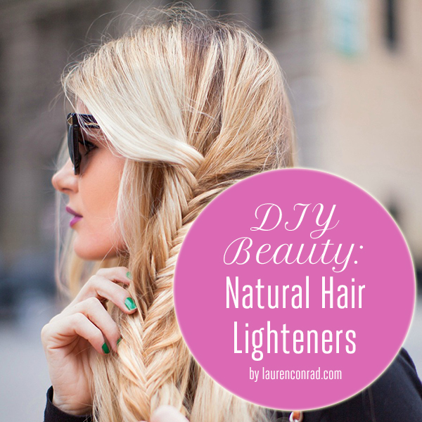 Beauty Diy Natural Hair Highlighters Lauren Conrad