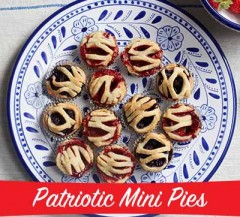 Edible Obsession: Patriotic Mini Pies