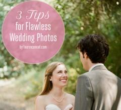 Wedding Bells: 3 Tips for Flawless Wedding Photos + Giveaway