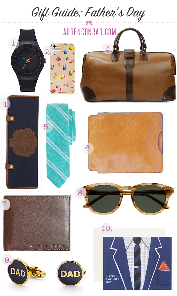 LaurenConrad.com Father's Day Gift Guide