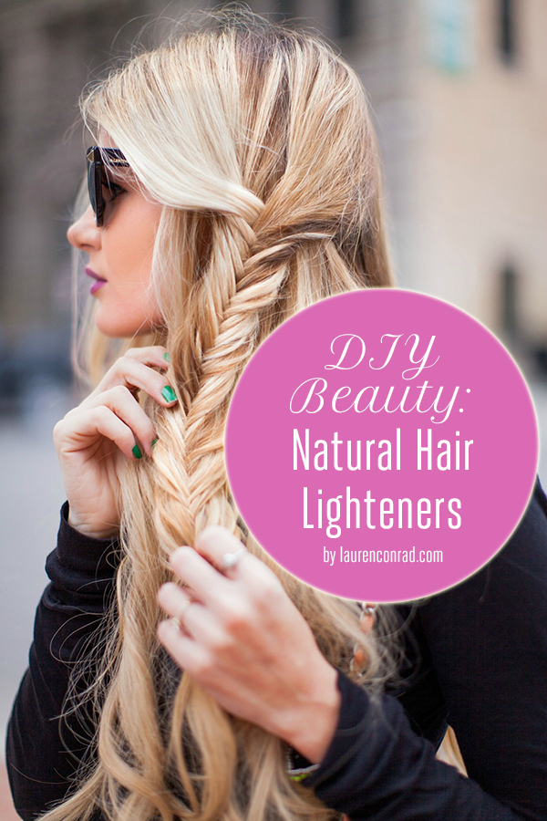 Beauty Diy Natural Hair Highlighters Lauren Conrad