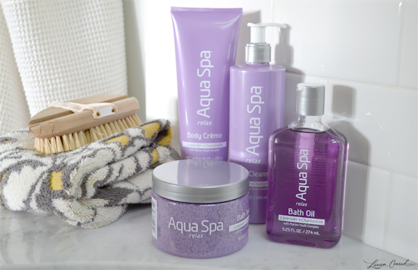 Aqua Spa Relax Bath Products