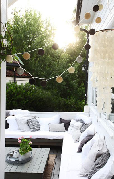 Great Outdoors: How to Create the Perfect Summer Patio