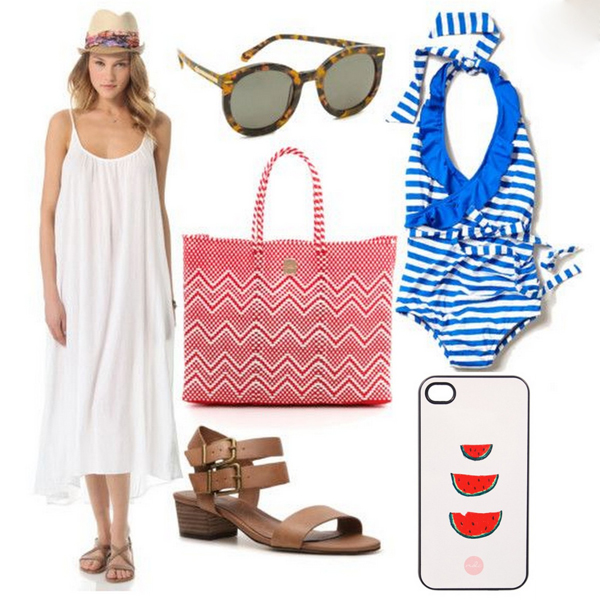 Style Guide: 5 Last Minute 4th of July Outfit Ideas {Beach Barbecue}