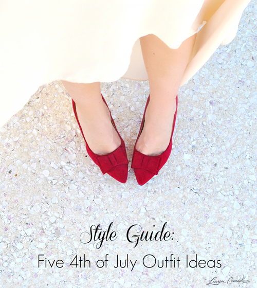 Style Guide: 5 Last Minute 4th of July Outfit Ideas