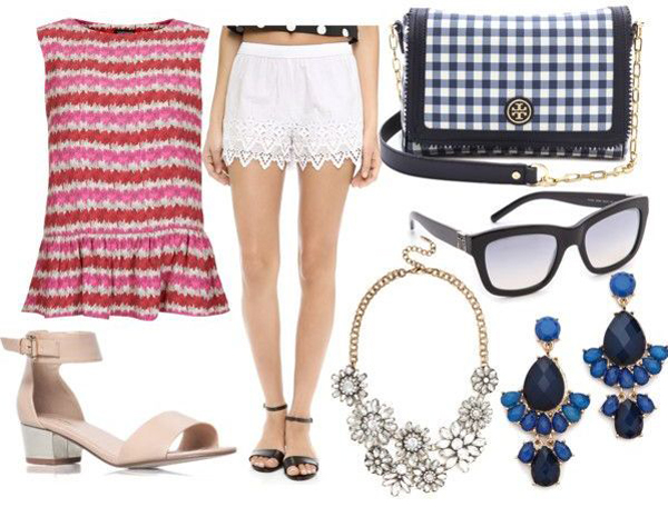 Style Guide: 5 Last Minute 4th of July Outfit Ideas {Parade Goer}