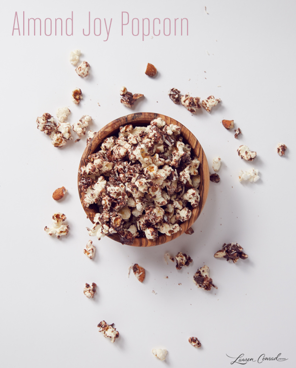 Almond Joy Party Popcorn