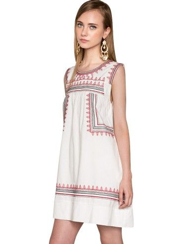 Pixie Market Casita Embroidered Boho Dress, $68