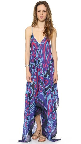 Theodora & Callum Barbados Scarf Dress, $295