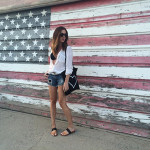 Chic of the Week: Stephanie's Patriotic Look