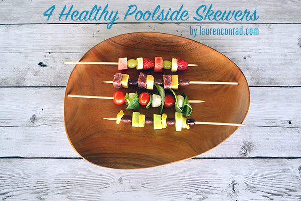 Good Eats: 4 Healthy Poolside Skewers