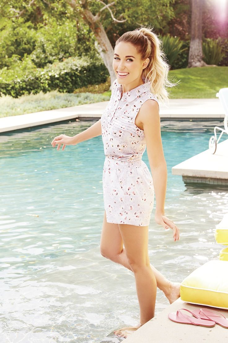 LC Lauren Conrad for Kohl's Floral Top & Shorts