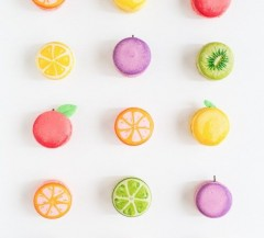 DIY fruit macarons from Sugar & Cloth