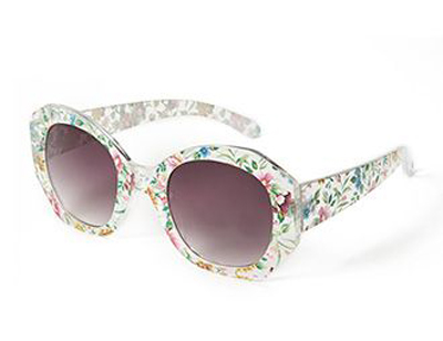 Island Girl Round Sunglasses