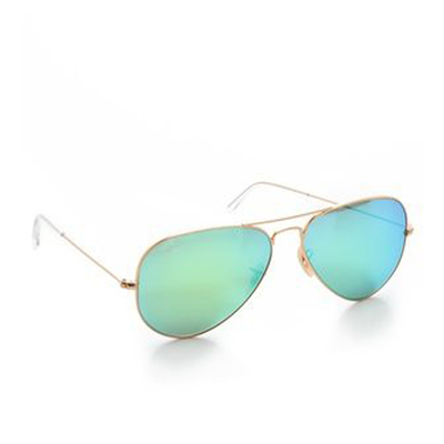 Ray-Ban Mirrored Matte Classic Aviators