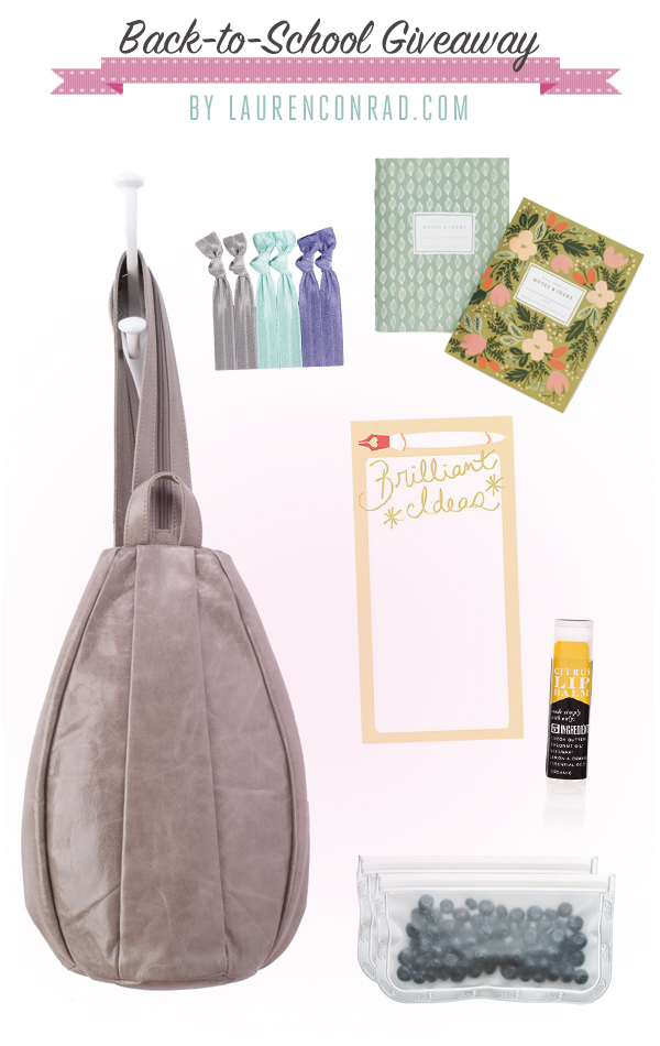 Giveaway: Our Chic Back-to-School Bag