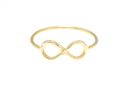 infinity ring by Susanne Elizabeth Jewelry
