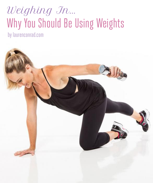 Fit Tip: Why You Should Be Using Weights