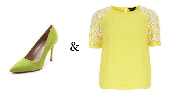 Lime Green + Lemon Yellow