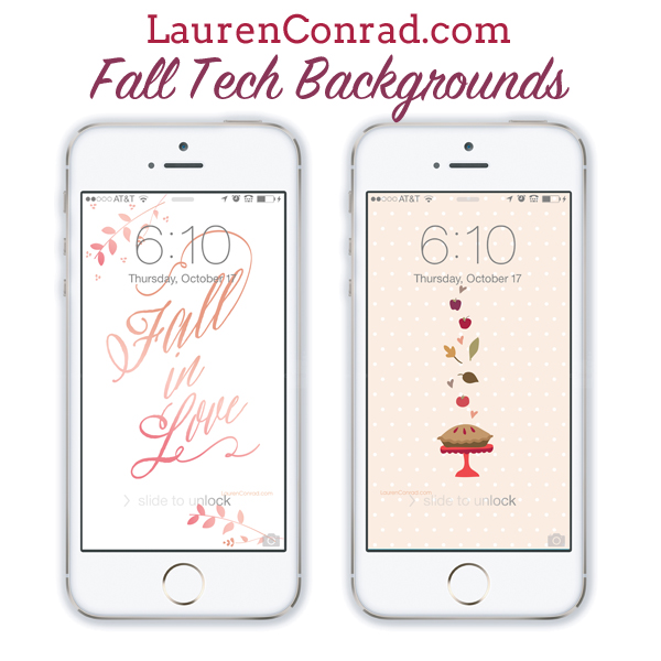 LaurenConrad.com Fall Wallpapers