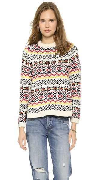 Paul & Joe Sister Peaks Sweater, $195