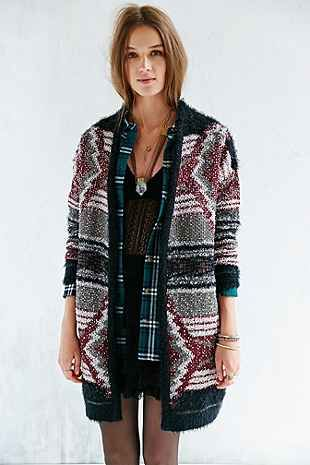 Urban Outfitters Ecote Cabin Fever Cardigan, $89