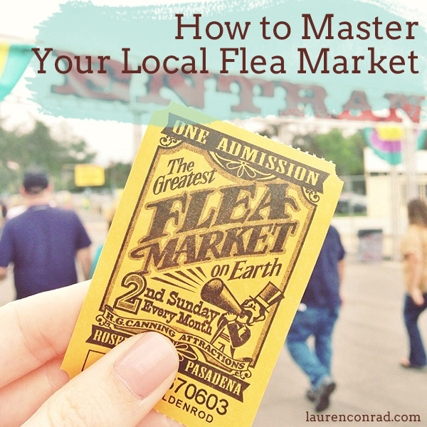 Savvy Shopper: How to Master the Flea Market
