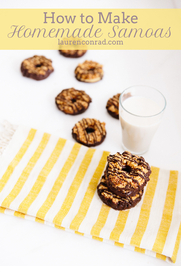 Edible Obsession: Homemade Samoas