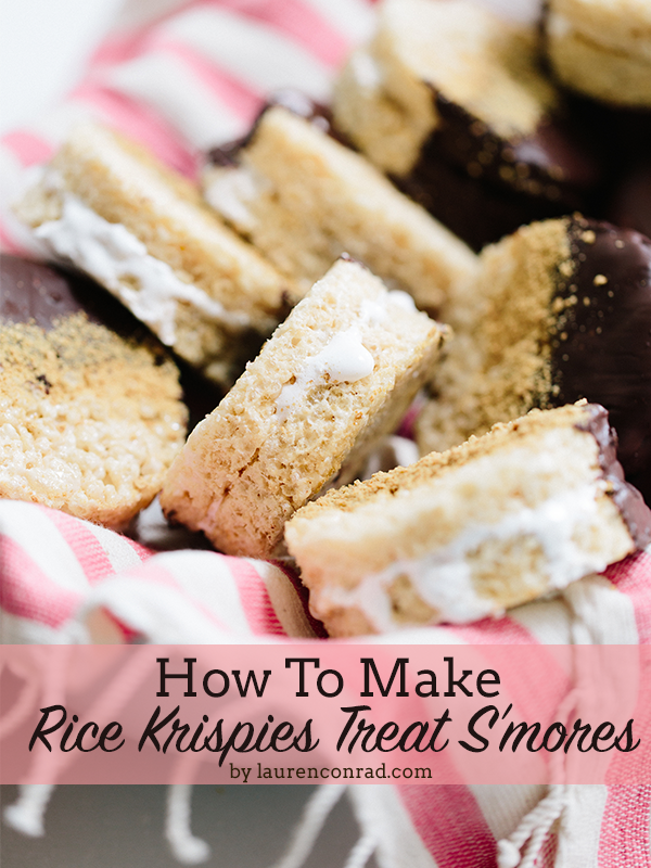 Recipe Box: Rice Krispies Treat S'mores
