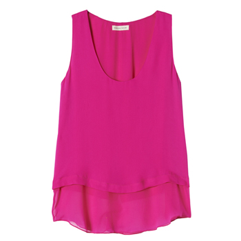 Rebecca Taylor Double Layer Tank, $225