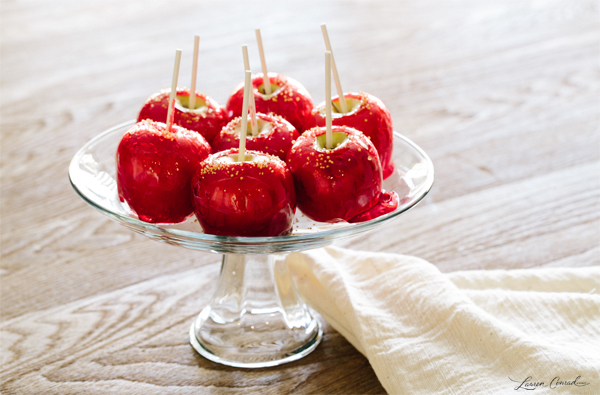 Edible Obsession: Sprinkled Candy Apples